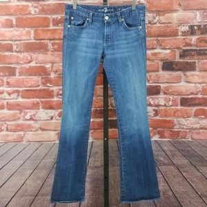 Flare Jeans 7FAM A Pocket 29x33